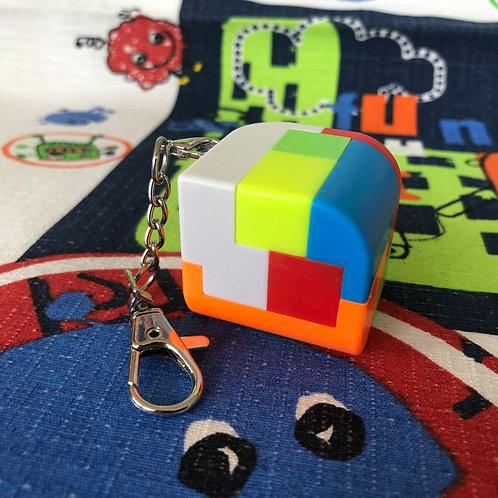 Llavero penrose piezas stickerless