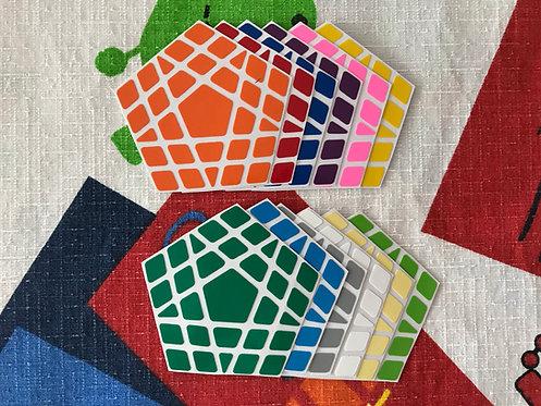 Stickers Gigaminx vinil colores estándar