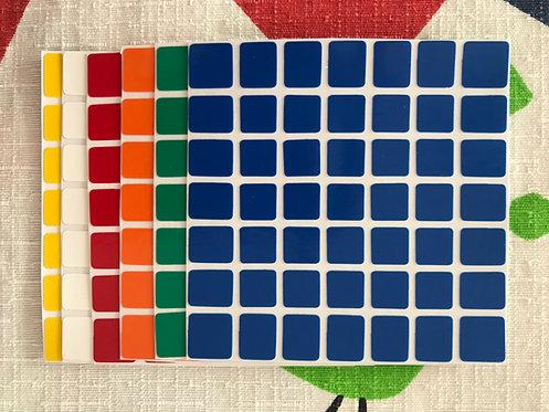 Stickers 7x7 Shengshou vinil colores estándar