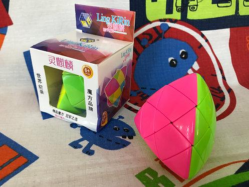 Yuxin mastermorphix 3x3 stickerless candy colors