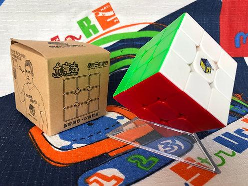 3x3 Yuxin Little Magic stickerless colored