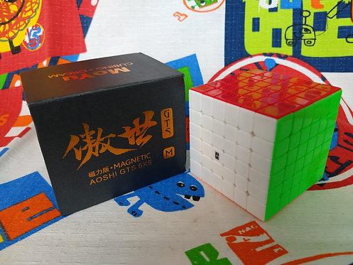 6x6 Moyu AoShi GTS magnético stickerless colored
