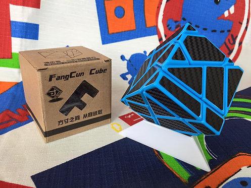 FangCun ghost 3x3 azul stickers fibra de carbono