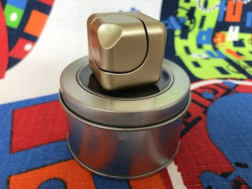 Fidget Cube Spinner dorado