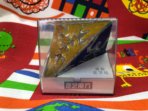 QiYi Gear pyraminx tiles base transparente