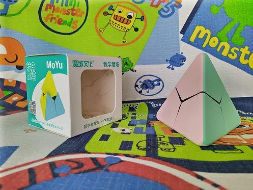 Moyu Pyraminx corner twist macaron stickerless
