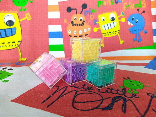 Cubo laberinto puzzle mini 3.5cm 3D