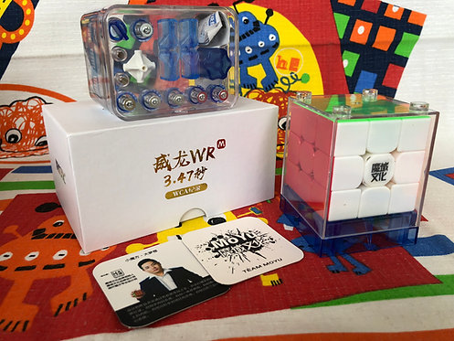 3x3 Moyu WeiLong WR magnético stickerless colored