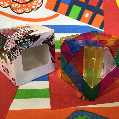 Ninja ghost 3x3 stickerless colores transparente