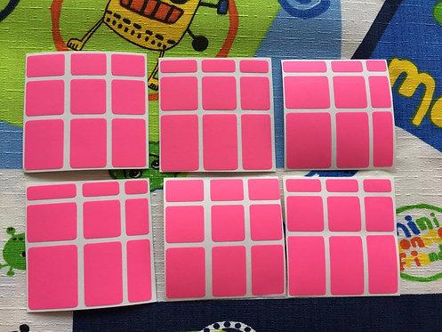 Stickers Mirror vinil rosa