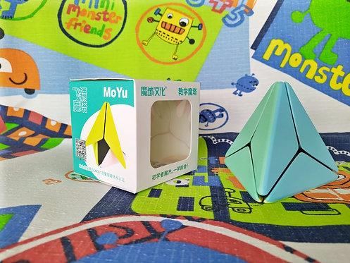 Moyu Pyraminx boomerang macaron stickerless