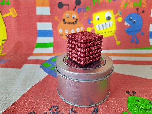 Neo Cube 5mm rojo 216 piezas
