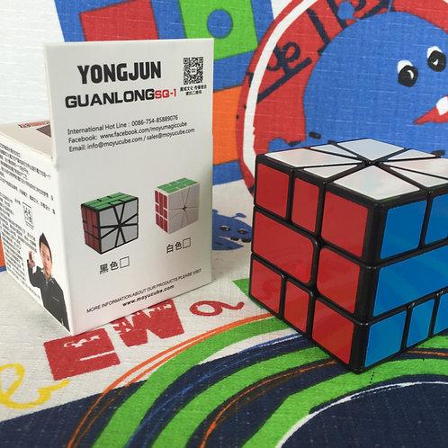 YJ Guanlong square 1 base negra