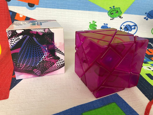Ninja ghost 3x3 base rosa transparente