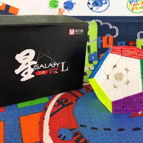 QiYi Galaxy Megaminx v2 LM magnético sculpture stickerless