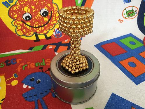 Neo Cube 5mm dorado (esferas)