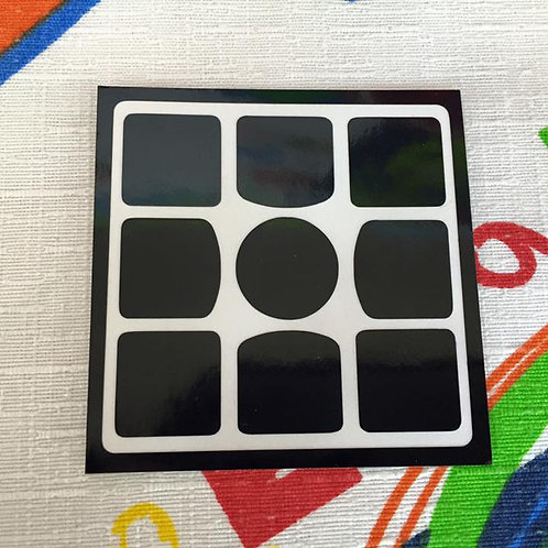 Cara 3x3 Gans 3 56/57 vinil negro