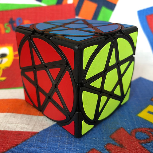 Pentacle cube base negra