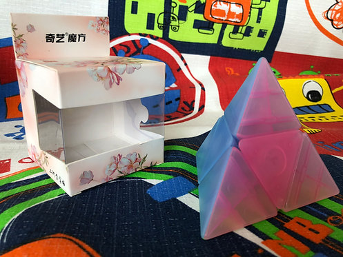 QiYi Pyraminx 2x2 jelly transparente