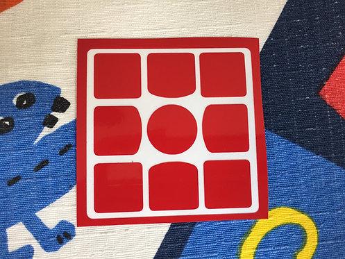 Cara 3x3 Gans 3 56/57 vinil roja