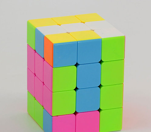 FanXin 3x3x4 stickerless candy colors