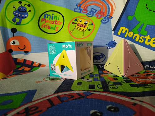Moyu Pyraminx windmill macaron stickerless