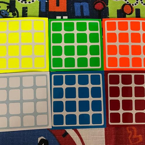 Stickers 4x4 Yuxin vinil half bright