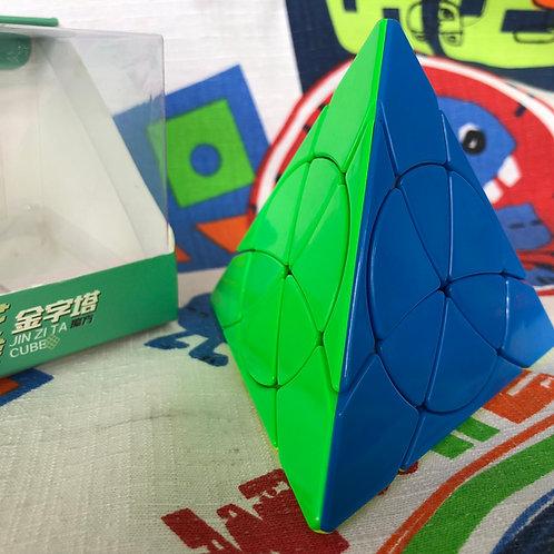 YJ Petal pyraminx stickerless