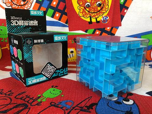 Moyu Cubo Laberinto 3D 95mm azul