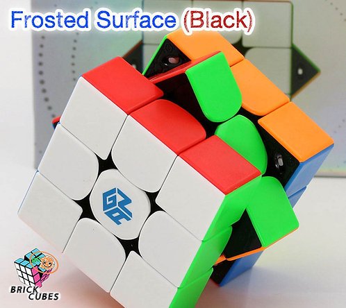 3x3 Gan 11 Pro M Frosted magnético stickerless negro