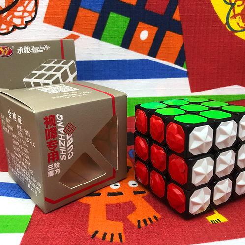 3x3 YJ Blind Cube base negra