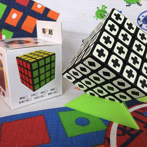 4x4 QiYi Fluorescente base negra