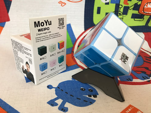 2x2 Moyu Weipo base azul