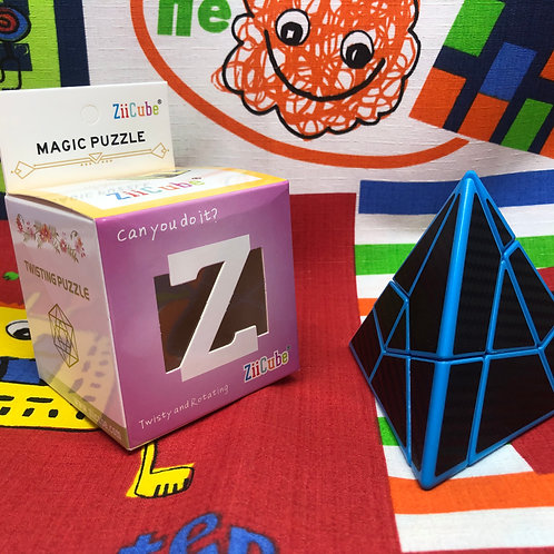 FangCun	Pyraminx Ghost phantom base azul
