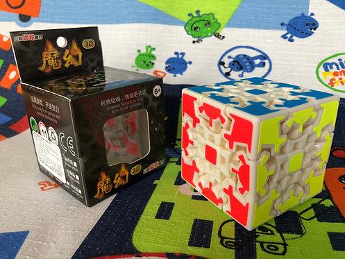 HelloCube Gear Cube v1 base blanca
