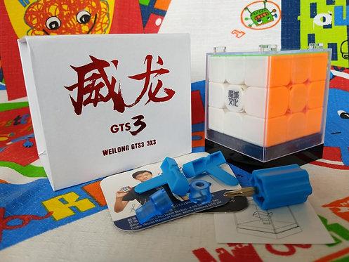 3x3 WeiLong GTS v3 stickerless colored