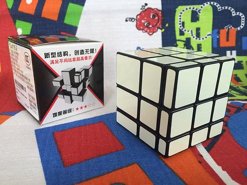 Shengshou Mirror 3x3 fluorescente base negra