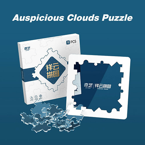 QiYi Cloud puzzle transparente 9 piezas