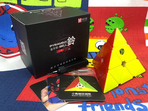 QiYi Pyraminx bell v2 magnética stickerless