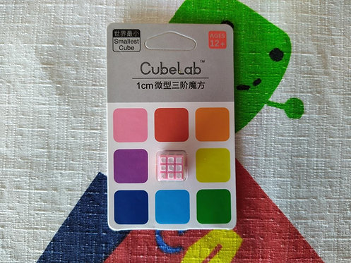 3x3x3 Cubelab mini cubo 1cm base rosa