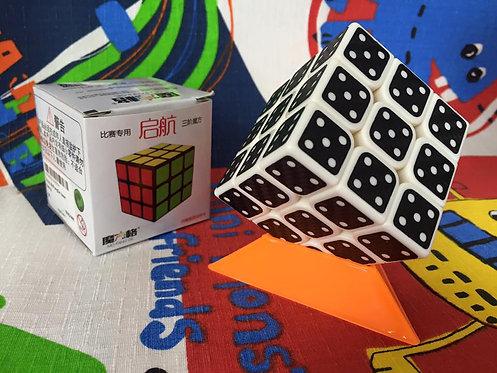 3x3 QiYi Sail dominó base blanca