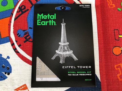 Puzzle metálico 3D Torre Eiffel