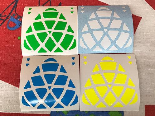 Stickers Megamorphix vinil half bright