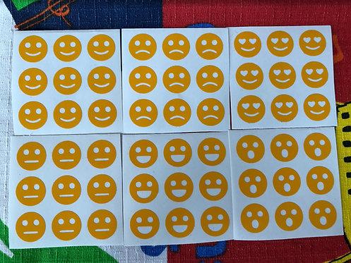 Stickers 3x3 vinil caritas