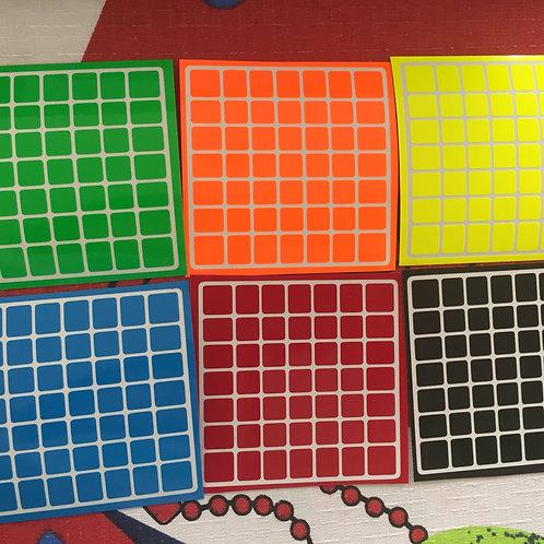 Stickers 7x7 Shengshou vinil half bright