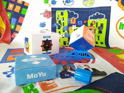 2x2 Moyu RS2M magnético stickerless