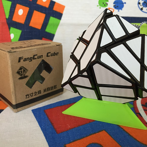 FangCun ghost 3x3 negro stickers fibra de carbono