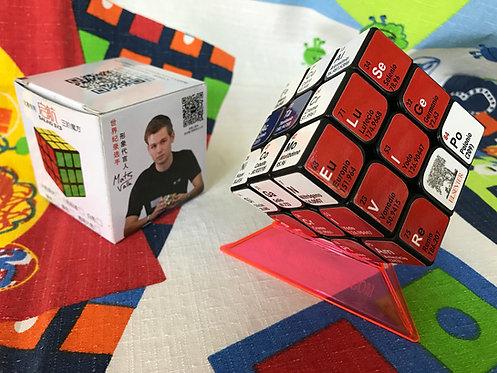 3x3 QiYi Sail tabla periódica base negra