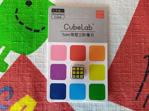 3x3x3 Cubelab mini cubo 1cm base negra