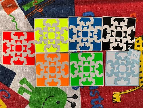 Z Stickers Gear Cube v1 vinil full bright